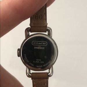 Coach Accessories - Classic coach watch